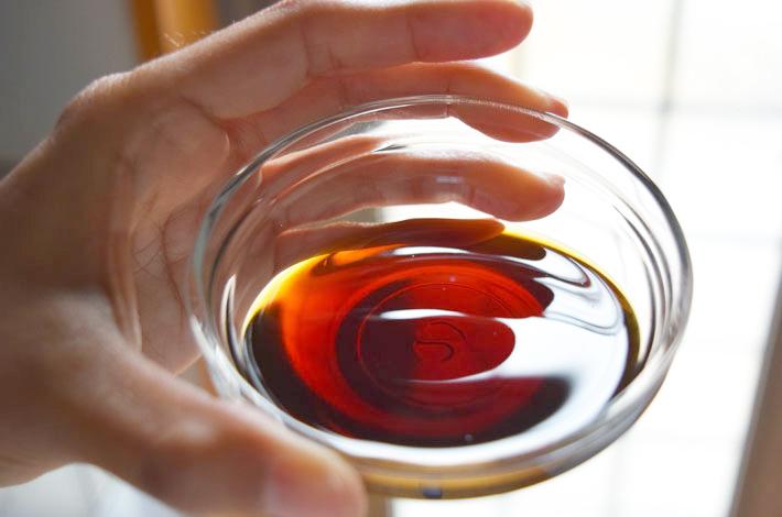 本醸造醤油とだしの醸し出す豊かな香りとコク