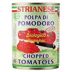 ストリアネーゼ 有機トマト缶 カット