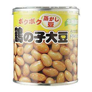 ぽくぽくふかし豆 鶴の子大豆