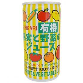 有機果実と野菜のジュース