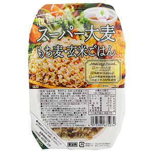 スーパー大麦 もち麦・玄米ごはん