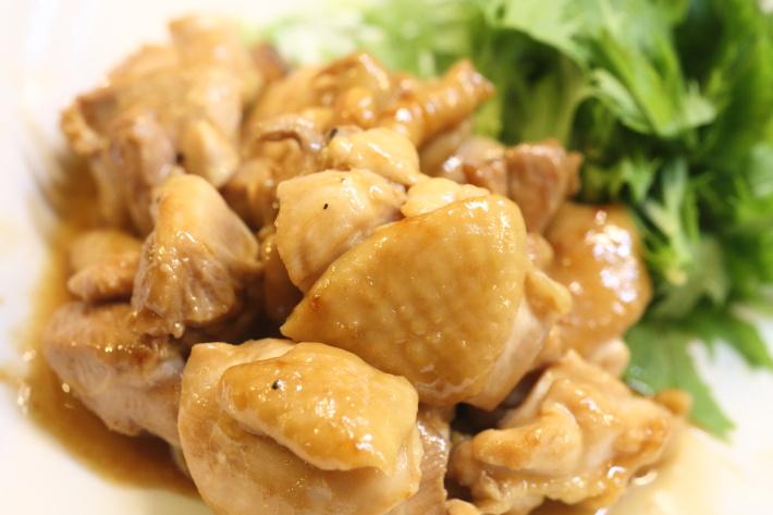 ガリバタポン酢のチキンソテー