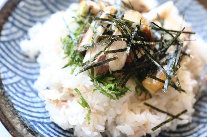 焼きサバちらし寿司