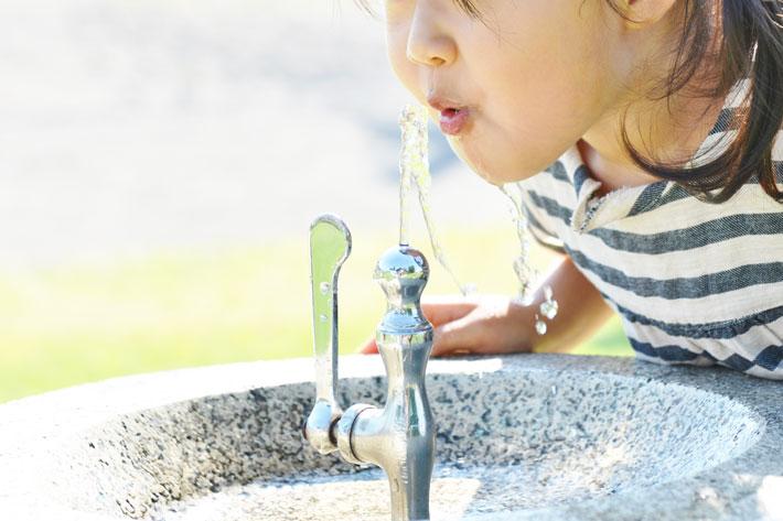 「水の惑星」の、ごくわずかな水資源。